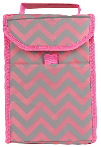 Thermal Insulated Waterproof Lunch Bag (Pink) - 6