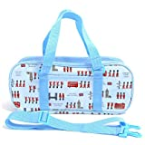 Kids paint bag rated on style (only bag) Teku-Teku London march (light blue) made in Japan N2107900 (japan import)
