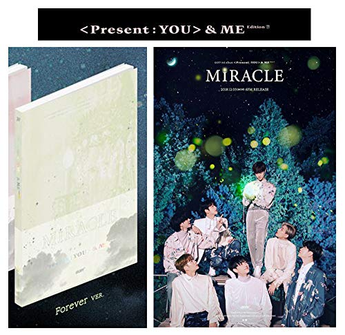 3rd GOT Abum [Forever Ver.] PRESENT YOU&ME Edition Repackage 2CD Album + Official Poster + Booklet + Photo Card + Lyrics Booklet + Gift