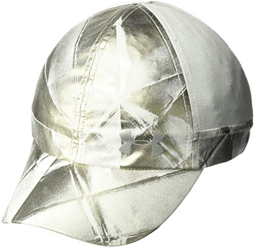 - Under Armour Women's Microthread Fly By Cap, Metallic Faded Gold (998)/Silver, One Size