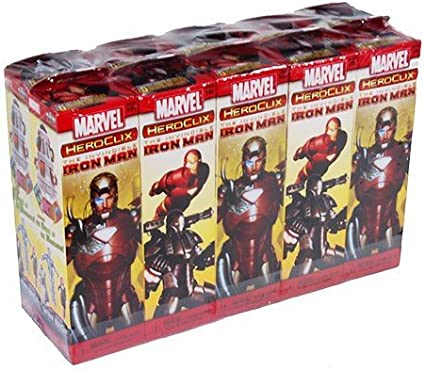 The Invincible Iron Man 20 Count Booster Brick Case Marvel HeroClix