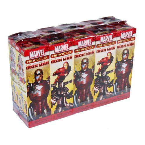 Marvel HeroClix: Invincible Iron Man Booster Brick (10) by WizKids