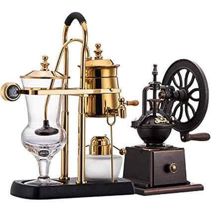 LJHA kafeiji Máquina de café, sifón, Olla, cafetera, Alcohol, lámpara,