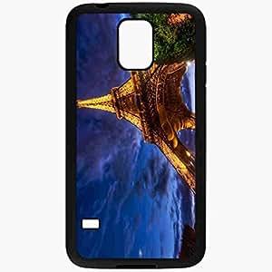 Unique Design Fashion Protective Back Cover For Samsung Galaxy S5 Case Beautiful Paris Cities Black