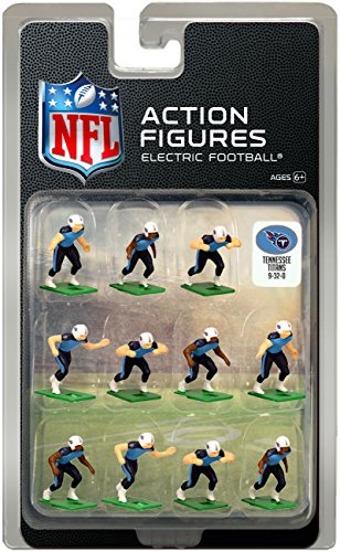 (Tennessee Titans Home Jersey NFL Action Figure Set)