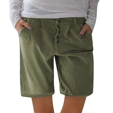 Geilisungren Pantalones Cortos para Hombre Penta Bermuda Hombre ...