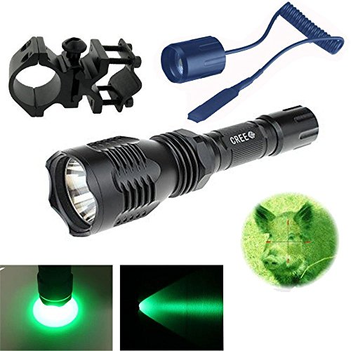 long range flashlight green - 6
