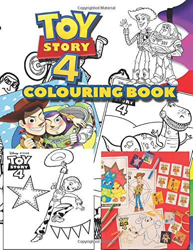 Toy Story Colouring Book Over 50 Colouring Pages Of Woody Buzz Lightyear Bo Peep To Inspire Creativity Relaxation Perfect Gift For Kids And Adults Silva David 9781708528171 Amazon Com Books