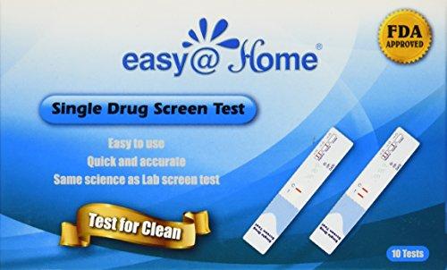 10 Pack Easy@home Marijuana (thc) Single Panel Drug Tests Kit - Individually