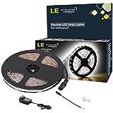 LE 16.4ft 12V Flexible LED Light Strip, LED Tape, 6000K Daylight White, 300 Units SMD 2835 LEDs, Non Waterproof...