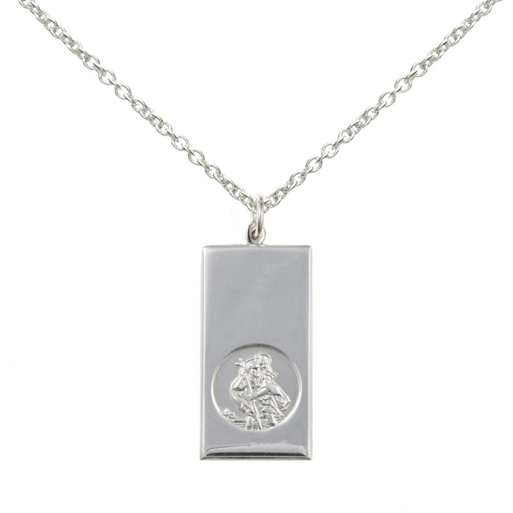 New Silver Alpha Jesus Ichthys Fish Symbol Pendant and Chain Necklace Jewellery