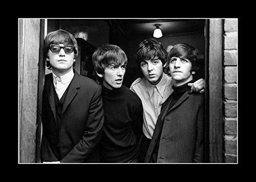 8 x 10 All Wood Framed Photo The-Beatles-1965 Beatles Photo