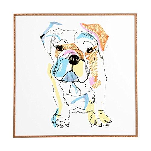 DENY Designs Rogers Bulldog Framed product image
