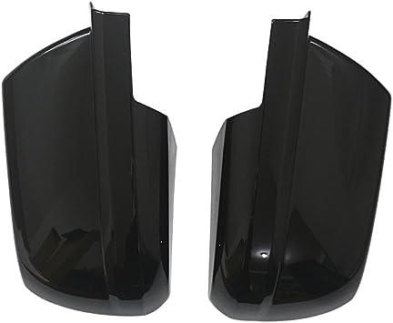 FOR 07-13 TOYOTA TUNDRA CREW MAX BLACK GLOSS MIRROR HANDLE TailGate W//O C COVER