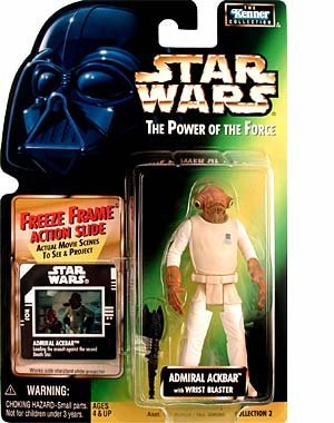 Power of the Force Freeze Frame Admiral Ackbar