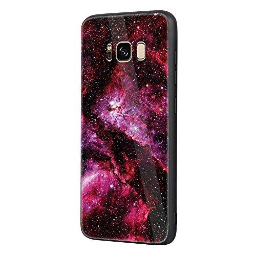 SRY-Funda móvil Samsung para Samsung Galaxy S8 cubierta suave TPU parachoques brillante color de impresión de nuevo caso ( Color : B ) B