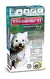 Dog Flea Treatment Collar - Advantix II for Medium Dogs 11-20 lbs Flea and Tick 2 Month