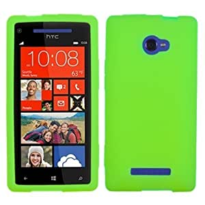 Asmyna HTCWIN8XCASKSO058 Slim and Soft Durable Protective Case for HTC Windows Phone 8X - 1 Pack - Retail Packaging...