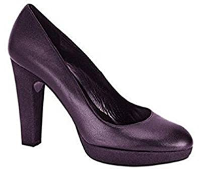 Singh s. Madan Pumps High Heels Leder - Farbe Beere