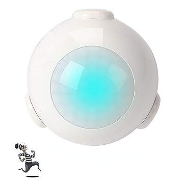 Detector de sensor de movimiento inteligente WiFi funciona con Alexa, Google Home, IFTTT de Foreet: Amazon.es: Bricolaje y herramientas