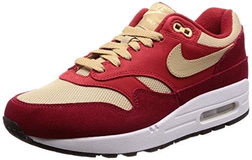 Nike Men's Air Max 1 Premium Retro Tough Red Mushroom Rush Red (Nike Air Max 1)