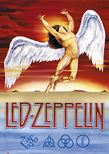 Led Zeppelin - Music Poster / Print (Swan Song) (Size: 24