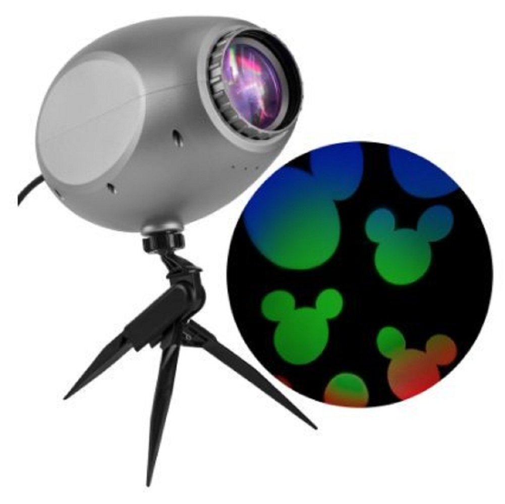 Disney Lightshow Projection Multi-function Multicolor LED Multi-design Christmas Outdoor Stake Light Projector Gemmy