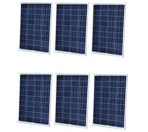 注目ブランド SAYA 100W 18V 100W ソーラーパネル 18V ソーラーパネル 6枚 B07GXB2GFD, トレンドウォッチ:a6c0a5eb --- itourtk.ru