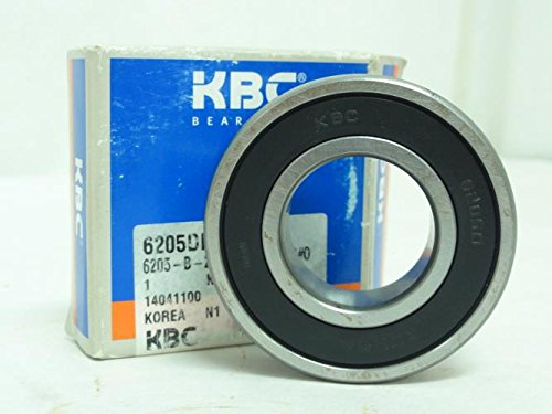 KBC 6205DDC3G81 Double Sealed Single Row Bearing NEW from KBC