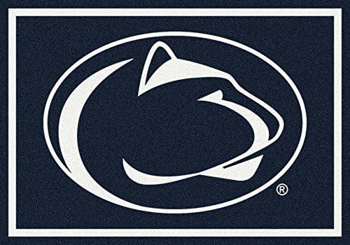 American Floor Mats Penn State Nittany Lions NCAA College Team Spirit Team Area Rug 5 4 x7 8