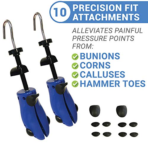 Premium Pair Shoe Stretchers 2 Way Stretcher Men Women Wide Feet Stretch Medium by Simple Shine (Image #1)