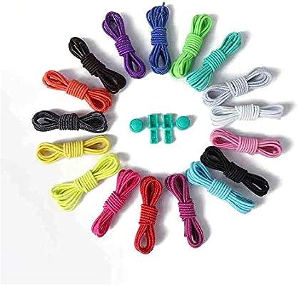 CRYSNERY Cordones de Zapatos sin Corbata, Unisex, para Mujer ...