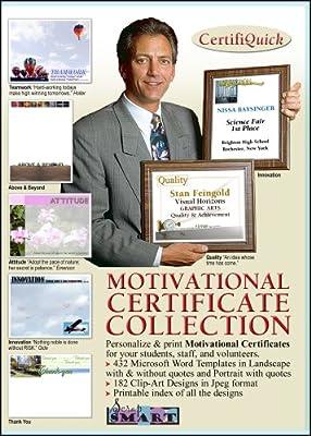 ScrapSMART - CertifiQuick - Motivational Certificate - Software Collection - Jpeg & Microsoft Word files [Download]