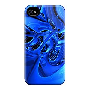 Durable Defender Cases For Iphone 6 Covers(blue Blur)