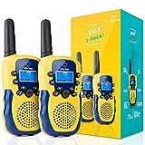 Walkie Talkies for Kids - Vox Box Kids Walkie Talkies for Boys or Girls, Voice Activated Long Range Outdoor Toys Walkie Talkie Set