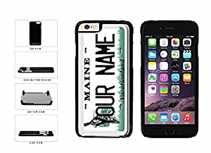 diy phone casePersonalized Custom Maine License Plate Plastic Phone Case Back Cover iPhone 6 (4.7 inches)diy phone case