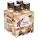 Kellogg's Special K Protein Shakes, Vanilla Cappuccino, 10 Ounce Ready to Drink Bottles, 4 Count (Pack of 3)