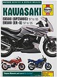 Kawasaki ex500 (gpz500s) and Er500 (Er-, Haynes, 1844252590