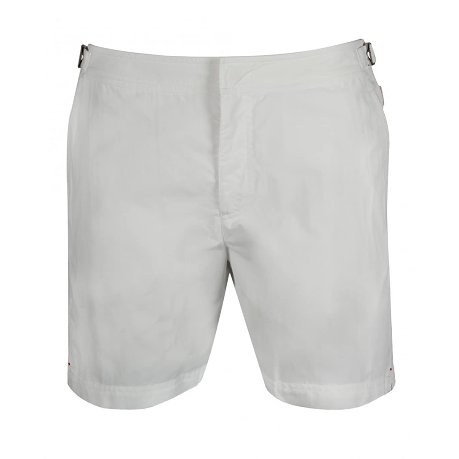 Orlebar Brown Bulldog White Swim Shorts