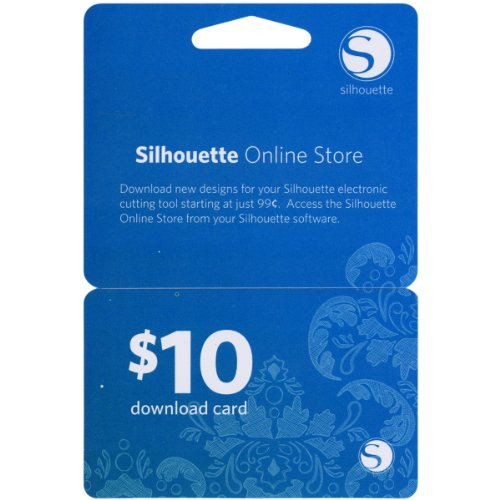 Silhouette Of America $10 Download Gift Card from Silhouette America