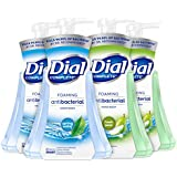 Dial Complete Anti-bacterial Foaming Hand Wash, 60 oz of Foaming Hand Soap. 2-scent Variety Pack Spring Water/Pear, 15…