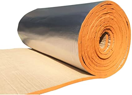 Aislamiento exterior Algodón, Casas impermeables Piso superior Aislante protector solar Algodón Materiales de aislamiento Paneles acústicos (color : Naranja): Amazon.es: Instrumentos musicales