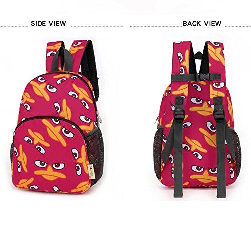 Kinder Schulrucksäcke Loop Nette Kinder Schulranzen Reise Studenten Buch Tasche 31x23x12cm,b