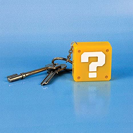 Paladone Super Mario Bros. Question Block - Novelty Key Chain