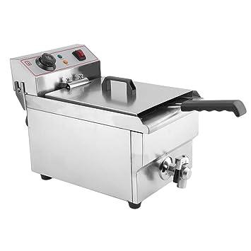 yesper 3000 W 10L fritura eléctrico (fría zonas fritura freidora Acero Inoxidable fritöse tentempiés Acero Inoxidable: Amazon.es: Hogar