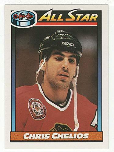 Chris Chelios (Hockey Card) 1991-92 O-Pee-Chee # 268 ()