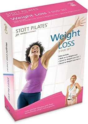 STOTT PILATES Weight Loss 3 DVD Set