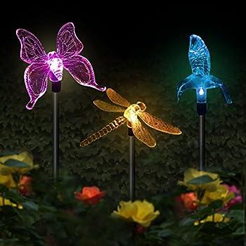 Amazon.com: Solaration KB1041 Solar Stake Flower