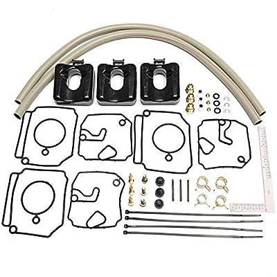 Carburetor Repair Kit for Yamaha 40-50HP 2-Stroke Outboards Carburetor Replaces Yamaha 6H4-W0093-03-00 6H4-W0093-02-00 Sierra 18-7768: Sports & Outdoors