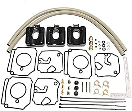 Amazon.com: Kit de reparación de carburador para Yamaha 40 ...